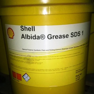 Shell Albida Grease SDS 1 - pail