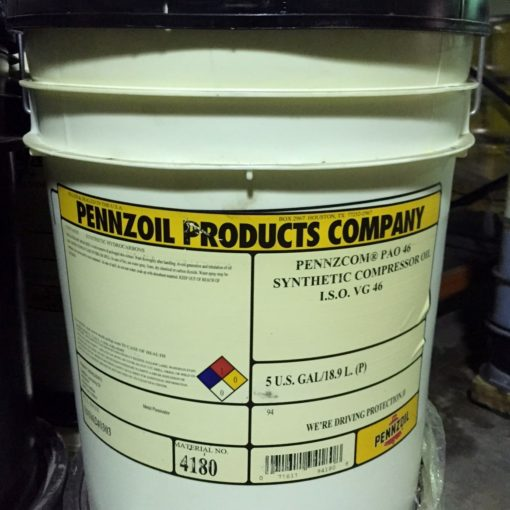Pennzoil PAO 46 Synthetic Compressor Oil VG 46