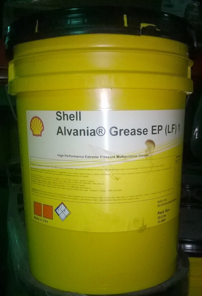 Shell Ep 3 Grease