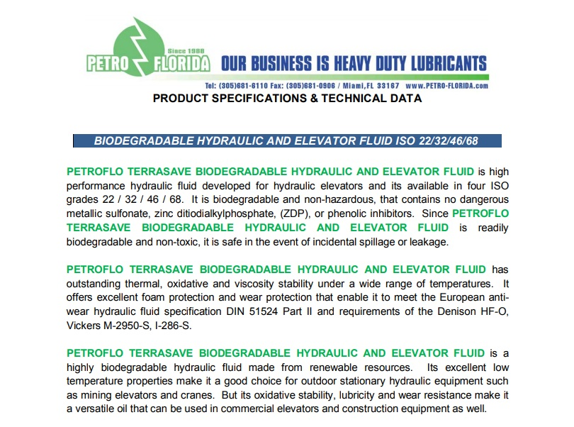biodegradable-hydraulic-elevator-fluid-iso-22