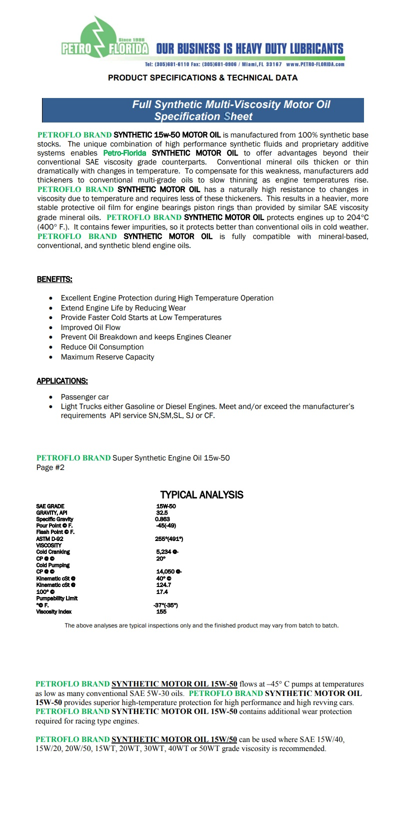 full-synthetic-multi-viscosity-motor-oil-specification-sheet